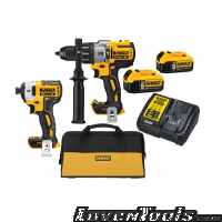 DeWALT DCK299P2 Cordless 20V Max Brushless Combo Kit DCK299P2