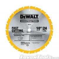 """DeWALT 10"""" 24T Jobsite Saw BLD DW3112"""