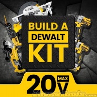 DeWALT Cordless 20V MAX Build A Kit