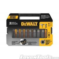 DeWALT 10 PC 3/8'' Drive Socket Set DW22838