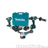 Makita XT368T Cordless 18V 5.0Ah Li-Ion Brushless 3Pc Combo Kit XT368T