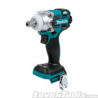 "Makita XWT11Z Brushless Cordless 3Speed 1/2"" Impact Wrench, Tool Only 18V LXT LithiumIon XWT11Z /DTW285Z"
